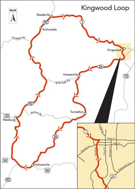 Buckwheat Express Route Map 2